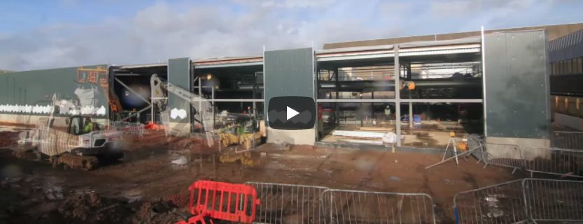 The Royal Mint Experience Construction Timelapse